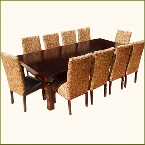 large family  pc dining table chairs set furniture