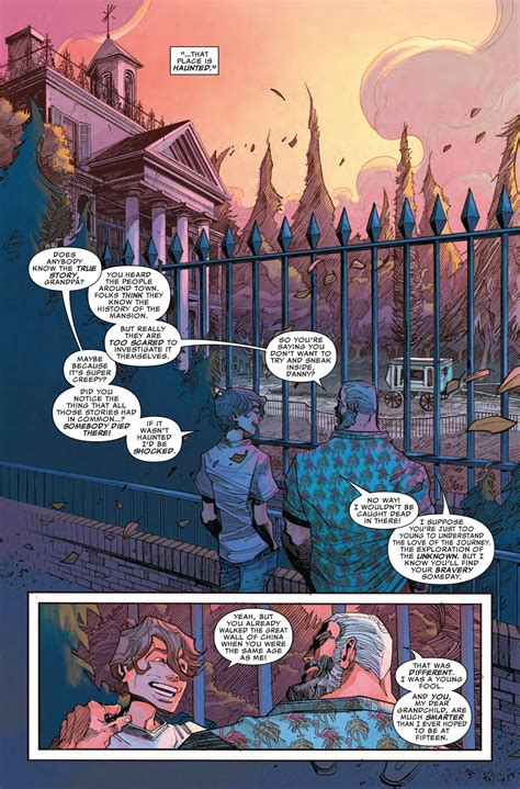 haunted doll mansion haunted mansion comic book unearths the history