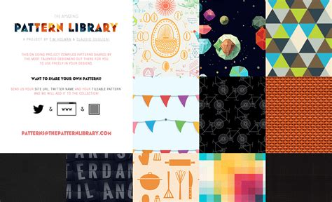 the pattern library license the amazing pattern library fonts in use