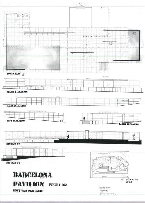 barcelona pavilion floor plan dimensions barcelona pavilion floor plan dimensions best free