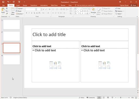 How To Change The Size Of A Slide In Microsoft Powerpoint Digital Citizen Powerpoint Presentation Template Size