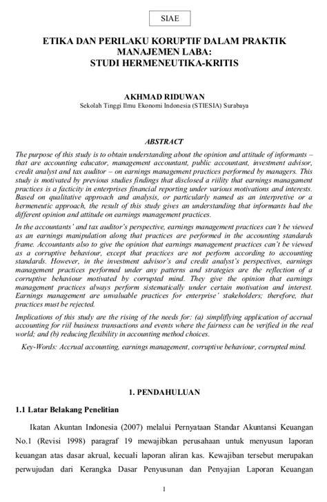skripsi akuntansi di hotel contoh abstrak skripsi penelitian kualitatif 11