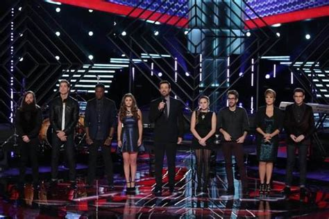 who went home on the voice 2013 season 5 last top 8