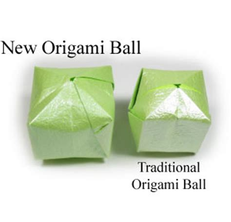 New Origami - how to make a new origami balloon page 1