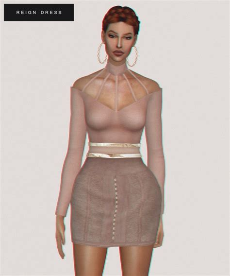 sims 4 royalty dresses reign dress at fashion royalty sims 187 sims 4 updates