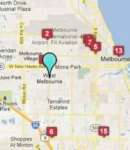 map melbourne florida west melbourne fl hotels motels see all discounts