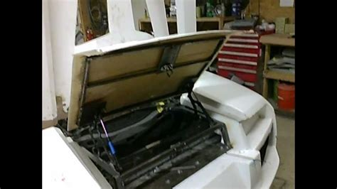 hinged door ansiz97 1 1984 lamborghini lp640 replica kit car project trunk