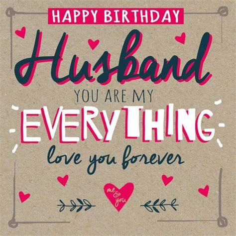 Birthday Cards For My Hubby