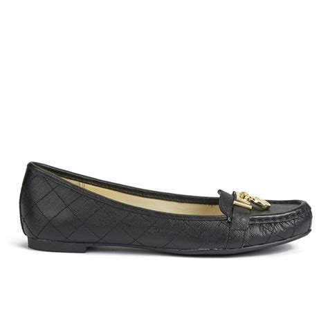 michael kors womens loafers michael michael kors s hamilton leather loafers