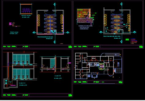 sanitary details dwg plan  autocad designs cad
