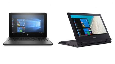 Hp Acer Windows 8 1 windows 10 s laptops from hp and acer now out price