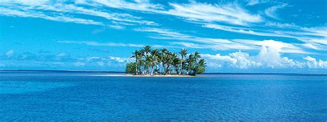 lonely island    ocean wallpaper beach