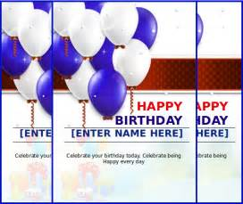 word birthday card template happy birthday card template microsoft word