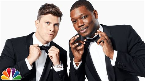 michael che youtube 2018 emmy awards with michael che and colin jost youtube