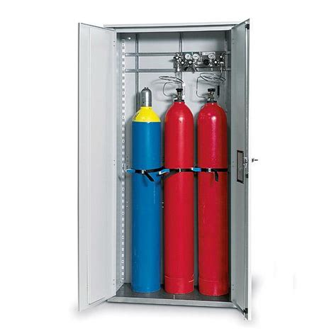Gas Bottle Storage Cabinet Single Walled Gas Cylinder Cabinet