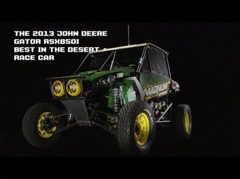 the 2013 john deere rsx 850i gator best in the desert utv
