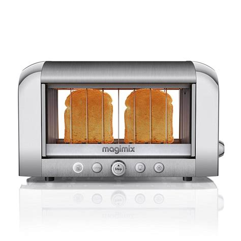 Toaster Face Toaster Has Transparent Panels On The Side Daily Mail Online