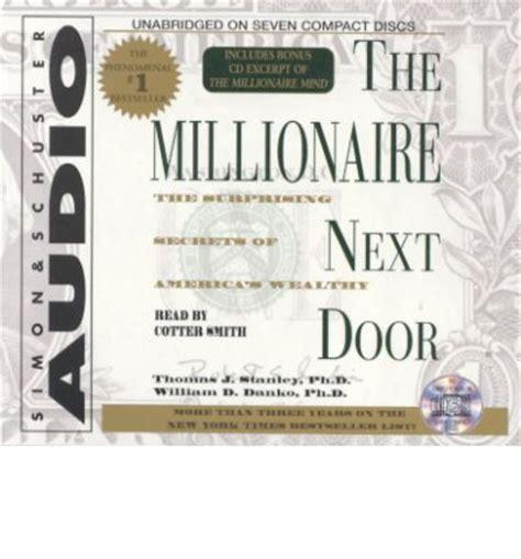 Millionaire Next Door by The Millionaire Next Door J Stanley 9780743517843