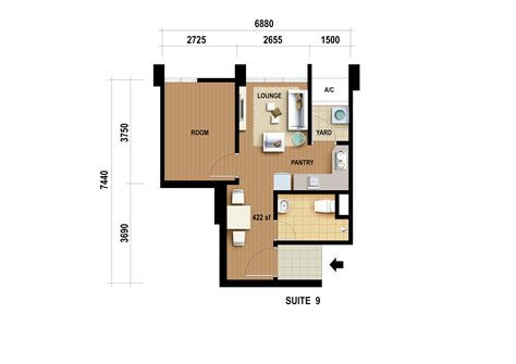 site floor plan studio suite site floor plan