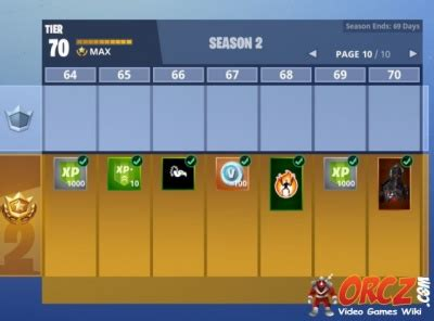 Fortnite Battle Royale: Battle Pass Rewards Season 2