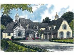 french country house plan with 4747 square feet and 4