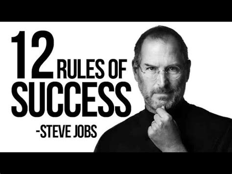 biography of steve jobs in telugu 12 rules of success steve jobs apple inc youtube