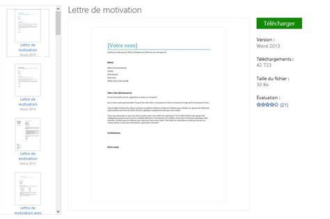 Exemple De Lettre De Motivation Sur Word Mod 232 Les Word De Lettre De Motivation