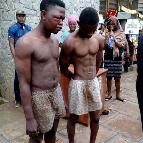 girl beats up boy in bathroom see what they did to these two boys in a nigerian