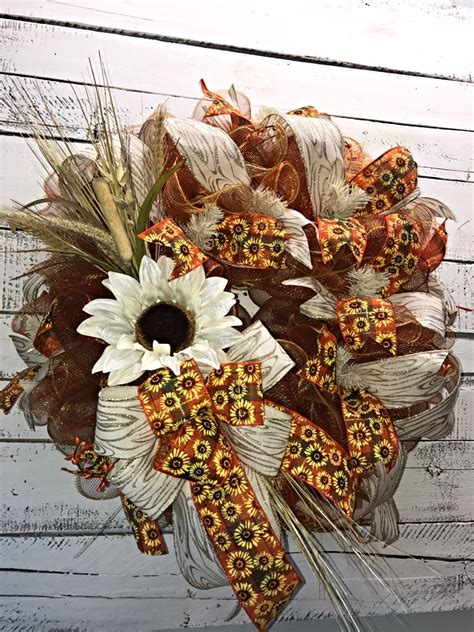 decorative wreaths for the home fall wreath fall wreath for front door large fall wreath