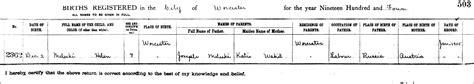 Worcester County Birth Records The Birth Of Helene Meleski 1904 Steve S Genealogy