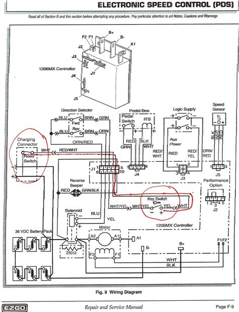 ezgo pds 36v battery wiring diagram free wiring