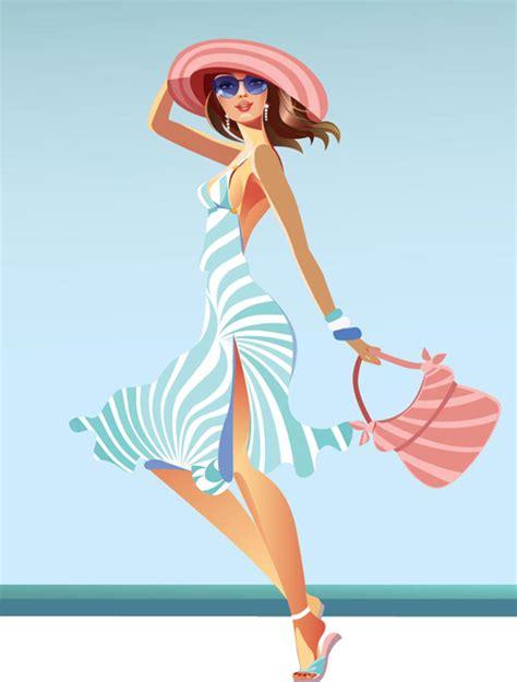 fashion illustration vector file vector fashion design elements set 19 vector