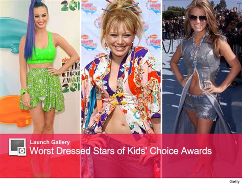 2008 Nickelodeon Choice Awards Worst Dressed by The Worst Dressed Of Choice Awards Past