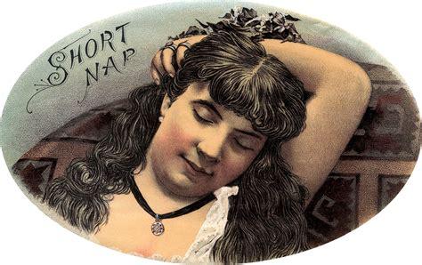 vintage sleeping lady image beauty  graphics fairy