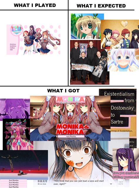 Doki Doki Literature Club Memes - pretty accurate doki doki literature club know your meme