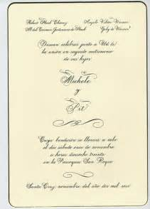 Spanish Wedding Invitations Spanish Wedding Invitations Plumegiant Com
