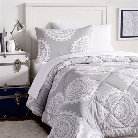 Microfleece Comforter by Medallion Florette Deluxe Value Comforter Set Pbteen