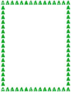 christmas tree border clipart clipartsgram com