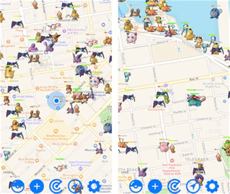 maps version apk go map radar apk version 1 1 fobulous pokemap
