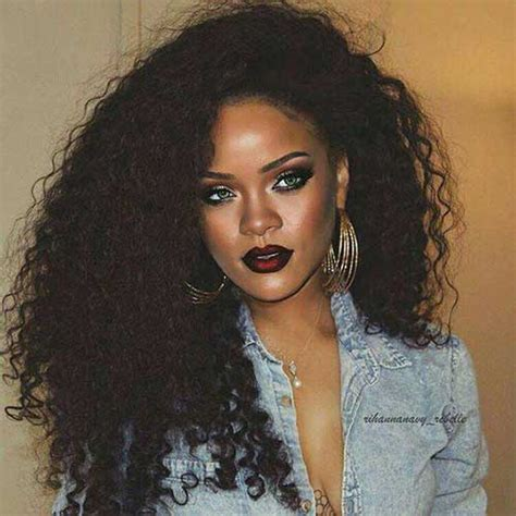 rihanas crazy hair styles 15 of rihanna s long hairdos every ladies should see