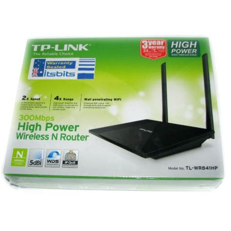 Tp Link Tl Wr841hp Wireless High Power Router N300 Promo 1 tp link tl wr841hp 300mbps high power wireless n 4 port router