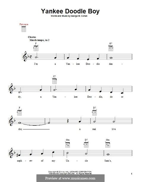 free yankee doodle sheet for clarinet yankee doodle boy by g m cohan sheet on musicaneo