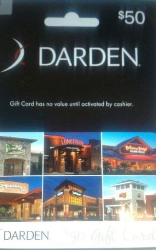 Where Can I Use A Darden Gift Card - free 50 darden gift card gift cards listia com auctions for free stuff