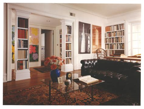 25 creative book storage ideas and home library designs book columns traditional living room chicago by stuart on