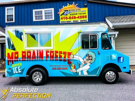 food truck window design food truck wrap design solution from a designer s