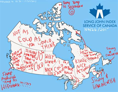 canada weather forecast map canada weather map and index summary nov 26
