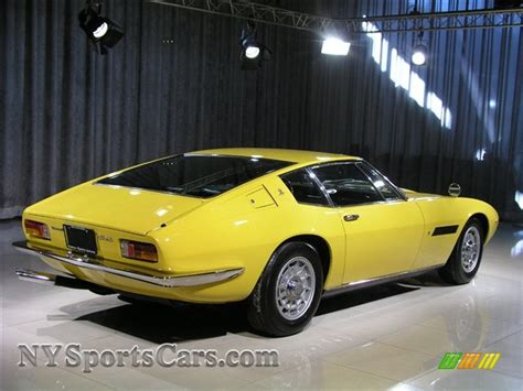 yellow maserati ghibli 1967 maserati ghibli in yellow photo 3 154732