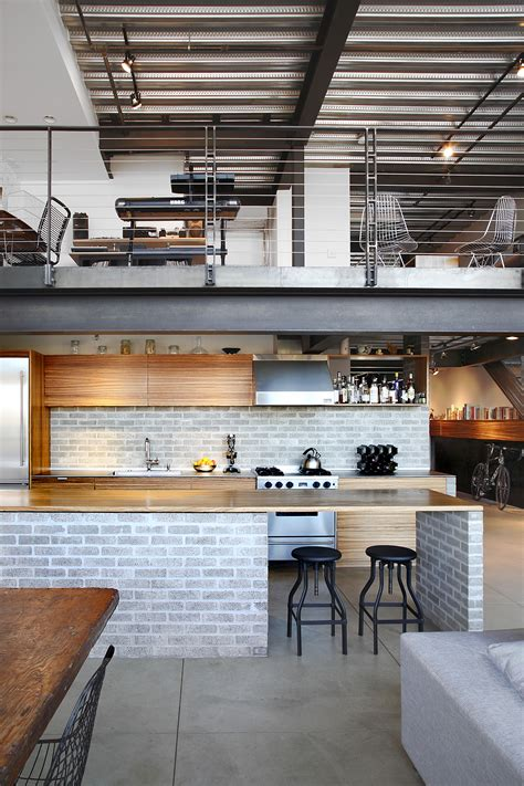 industrial loft  shed architecture design wowow home