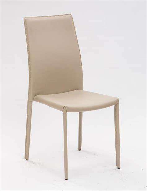 sedie rivestite sedia rivestita in pvc per cucina e sala da pranzo