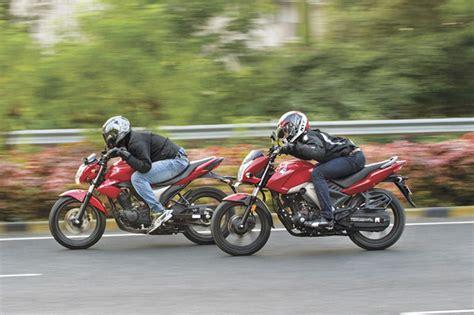 Suzuki Gs150r Vs Honda Unicorn Honda Cb Unicorn 160 Vs Suzuki Gixxer Comparison Bike